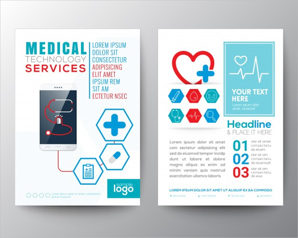 Free Abstract Medical Services Brochure