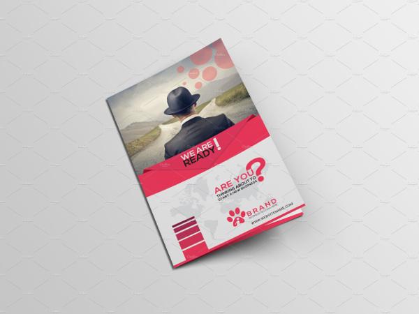 Editable Medical Bi-Fold Brochure Template