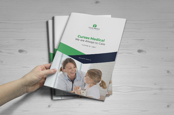 Medical Health Services Brochure Template