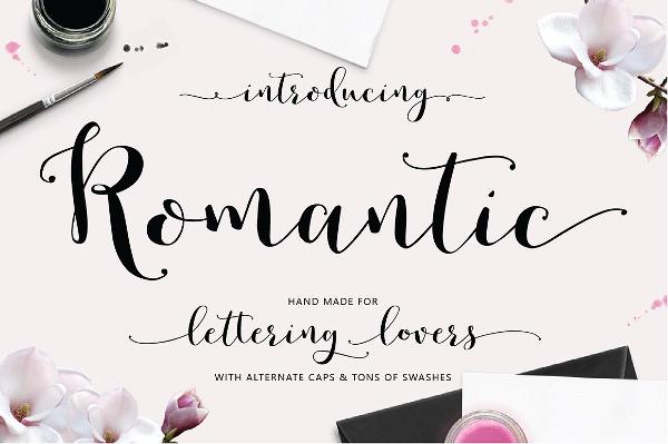 Perfect Romantic Design Font