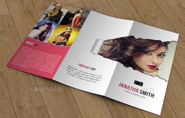 Photography Brochure Free PSD AI EPS Vector Format Download - Fashion brochure templates