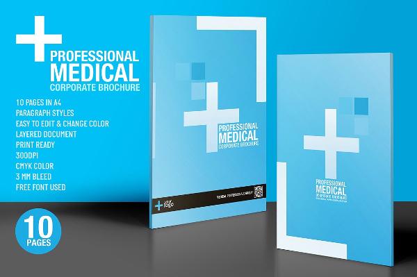 Medical Brocher Pasoevolistco - Medical brochure templates