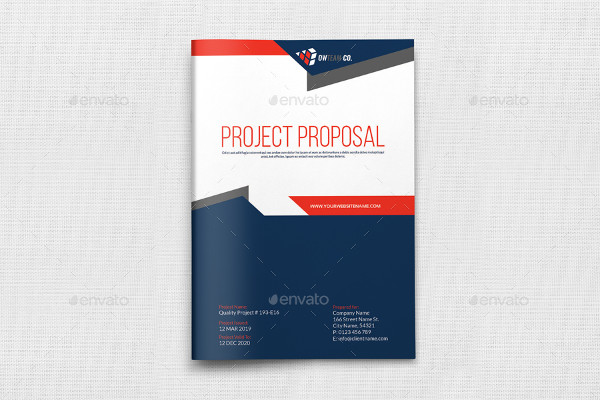 Company Project Proposal Template
