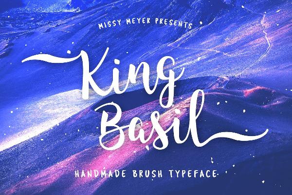 Romantic Handmade Brush Font
