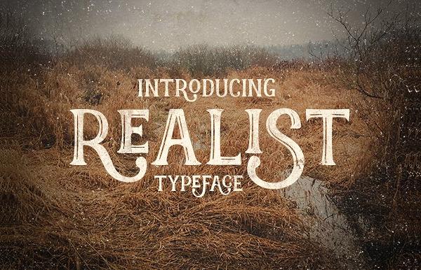 Romantic Vintage Font