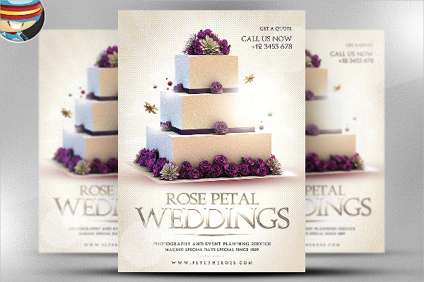 Best Wedding Flyer Template