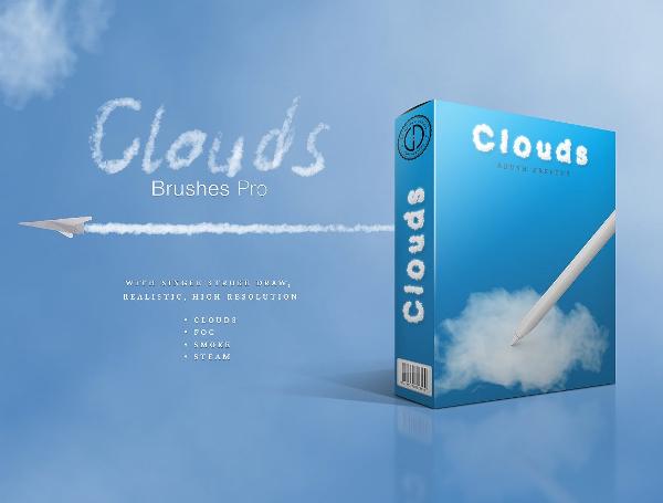Smoke or Cloud Brushes Pro