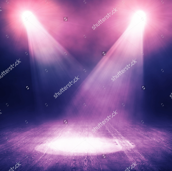 Spotlight Nightclb Background