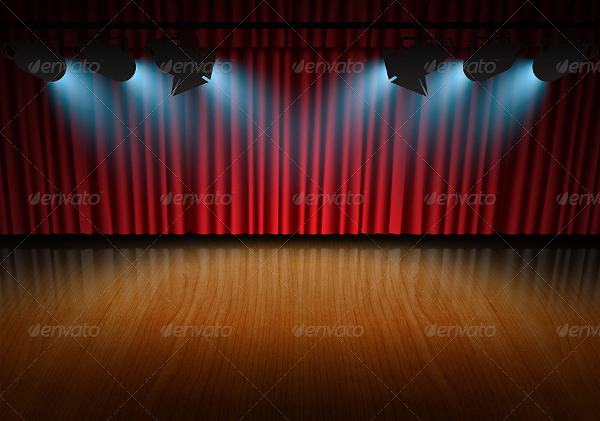 Print Spotlight Stage Backgrounds