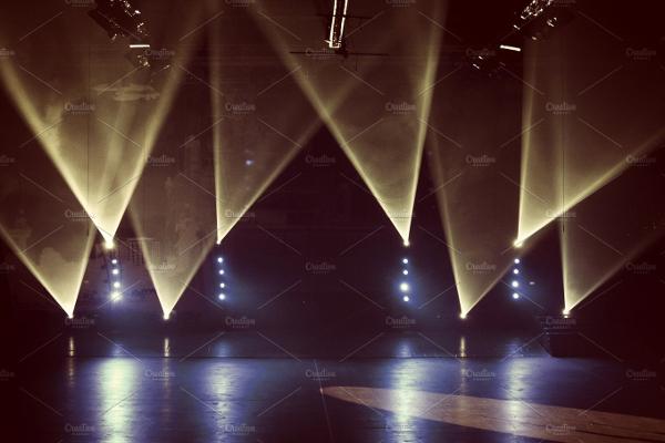 Spotlight Style Backgrounds