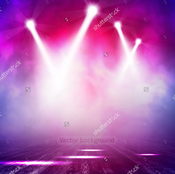 Spotlight Vector Background Template
