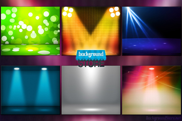 Spotlight Shiny Backgrounds Template