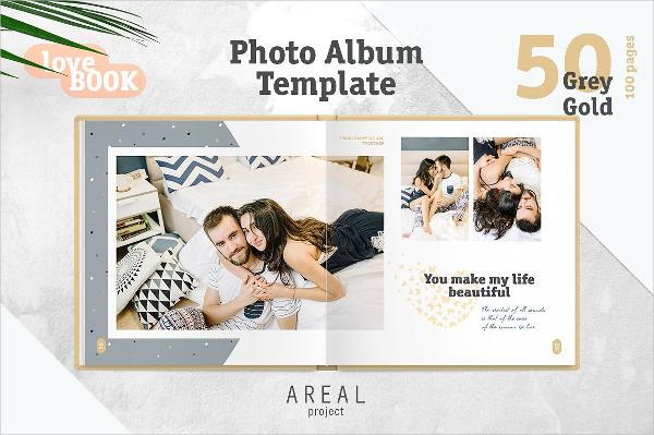 Unique Wedding Photo Album Design