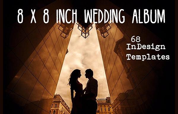 Wedding Album Indesign Template