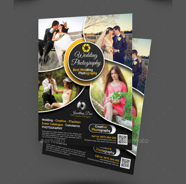 Wedding Photography Event Flyer Template