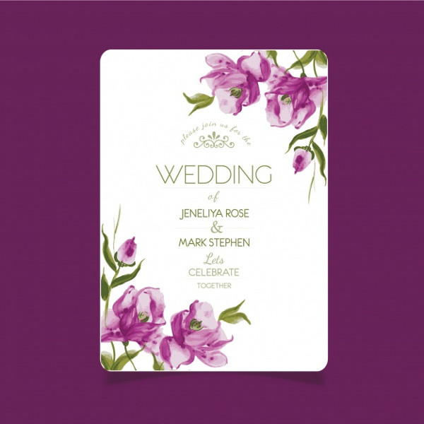 24+ Wedding Invitations - Free & Premium Photoshop ...
