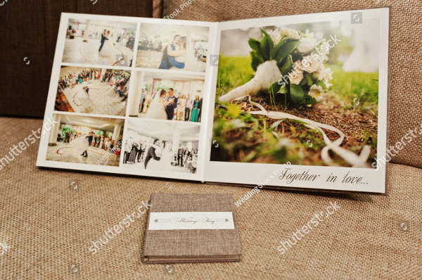Wedding Album Glossy Design