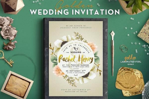 Best Wedding Card Invitations Template