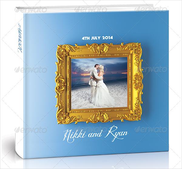 Print Ready Wedding Photo Album Cover