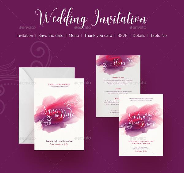 Professional Wedding Cool Invitation Templates