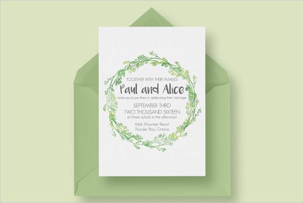 Hip Wedding Design Invitations Suite