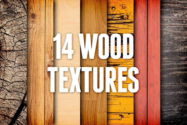14 Nature Wood Texture Pack