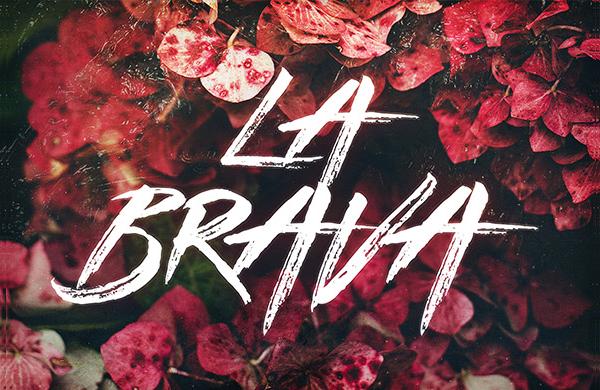 La Brava Cool Handdrawn Font