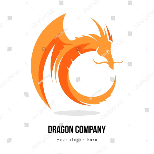 25 dragon logo free premium psd vector eps format downloads editable dragon business logo template wajeb Image collections
