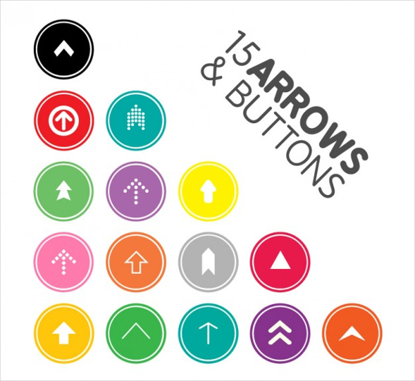 Free Download Arrow Design Buttons