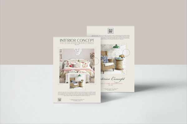 Free Interior Concept Flyer Templates