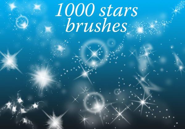 Free Vector Star Design Brushes
