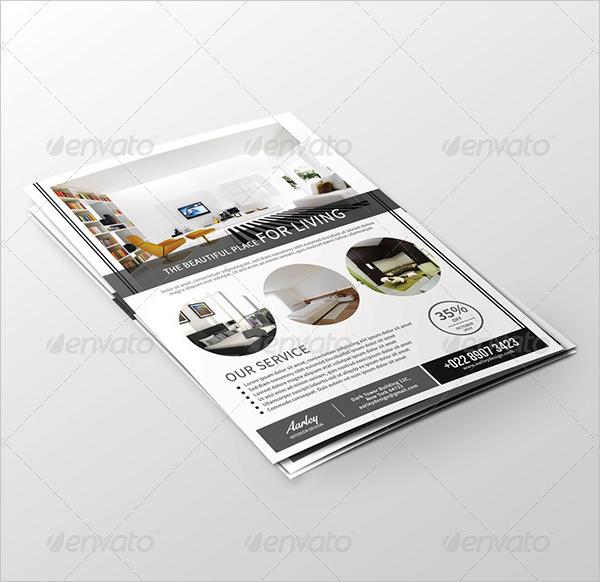 Popular Interior Design Flyer Template