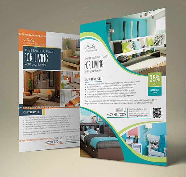 Awesome Interior Flyer Template