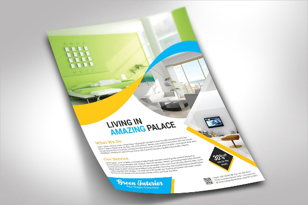 Clean Interior Business Flyer Template