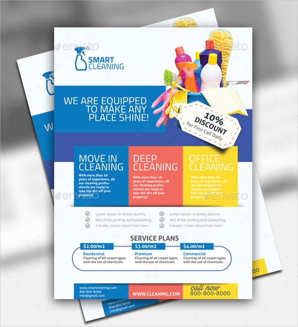 commercial cleaning brochure templates - 21 cleaning flyer free premium adobe photoshop