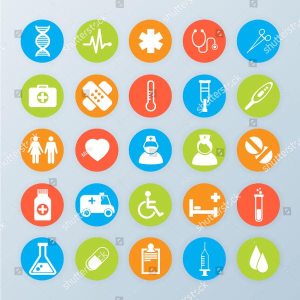 Perfect Medical Icon Set
