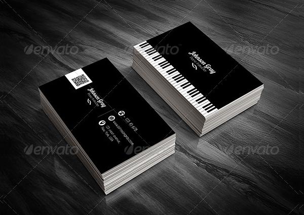 20 musician business card free psd eps illustrator eps downloads clean musician business card template colourmoves