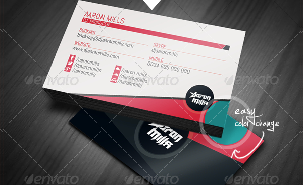 20 musician business card templates free premium download music dj business cards kit reheart Image collections