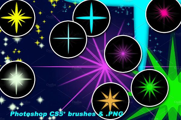 Shining Star Brushes Designs