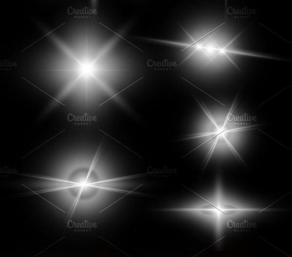 Creative Star Photo Light Brushes