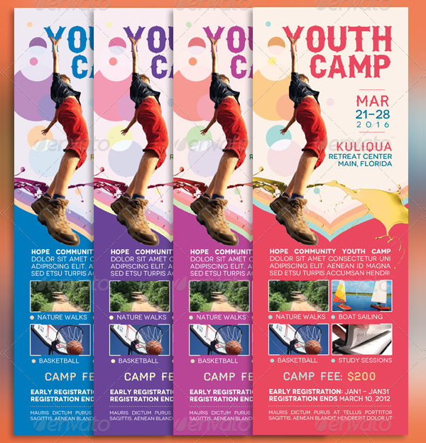 19 youth camp flyer free premium psd vector png jpg downloads