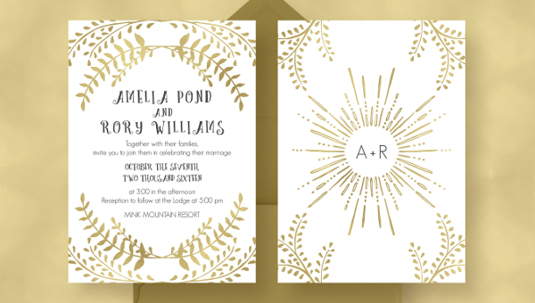 24 Wedding Invitation Templates