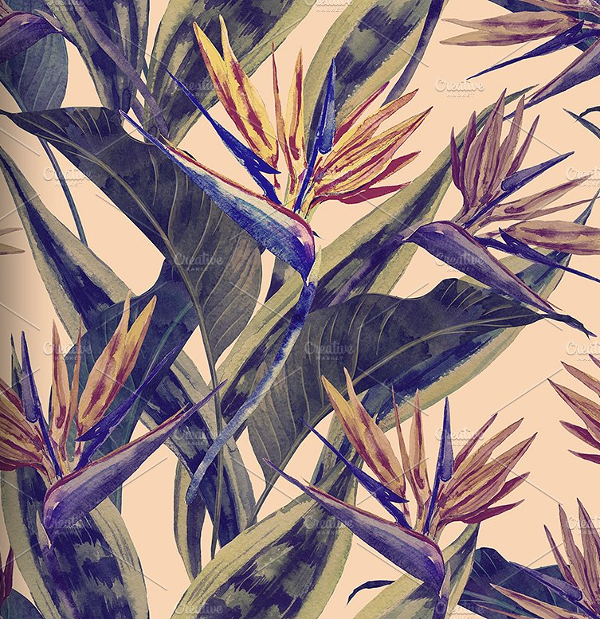 Flower Fabric Pattern
