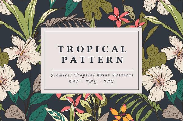 Tropical Flower Pattern