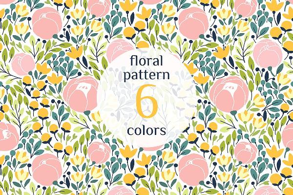 Flower Spring Pattern