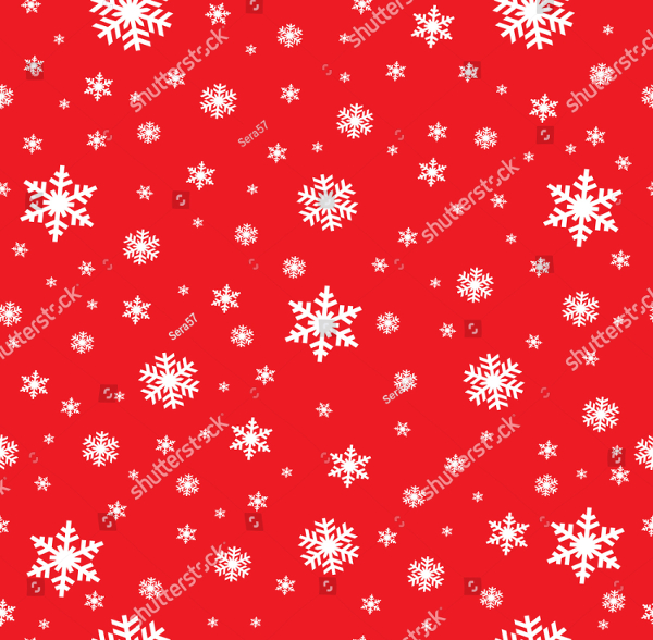 Snowflake Vector Pattern Design