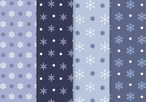 Free Snowflake PSD Patterns