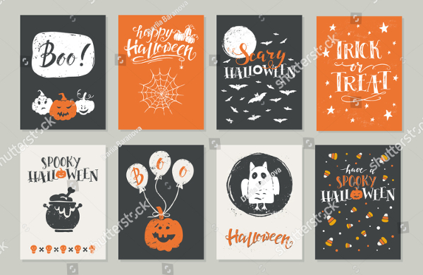 Halloween Greeting Card Flyer Templates
