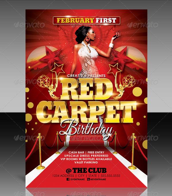 17+ Red Carpet Flyer Templates - Free Premium Photoshop Ai Downloads