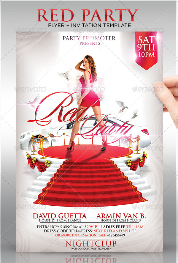 17 Red Carpet Flyer Templates Free Premium Photoshop Ai